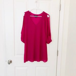 Lulus Shifting Dears Long Sleeve Dress NWT